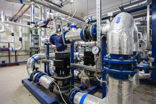 Индивидуальный тепловой пункт монтаж теплового пункта с  БТП «ZEVS»