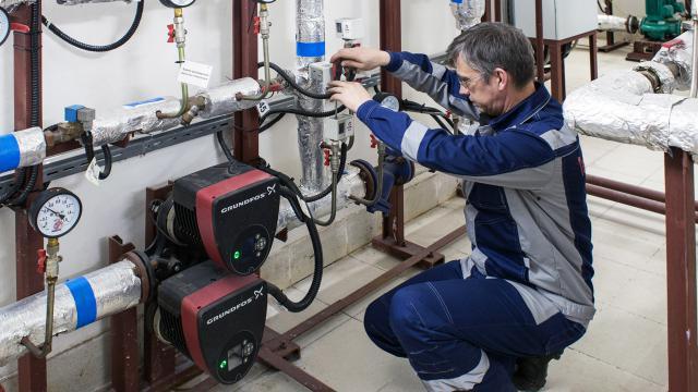 Обслуживание ИТП индивидуальных тепловых пунктов в «ТЭК Сервис»