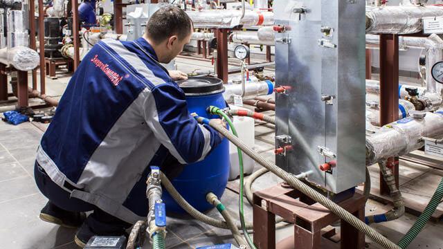 Промывка теплообменников в ИТП - Сервис по подготовке к отопительному сезону
